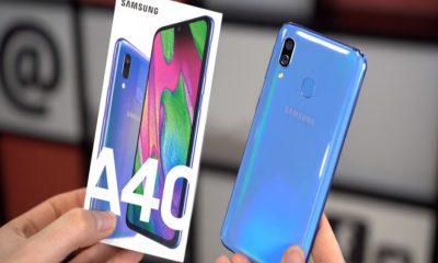Harga Samsung Galaxy A40 Dengan Kamera Selfie Resolusi Tinggi