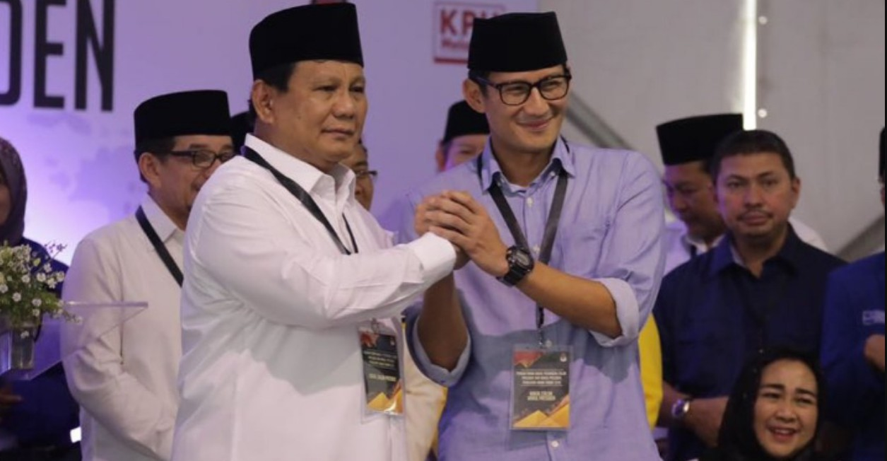 Prabowo-Sandi Unggul Di Hasil Akhir AyoJagaTPS