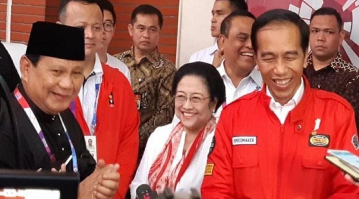 Besok, Prabowo, Megawati, dan Jokowi Akan Bertemu, Rekonsiliasi