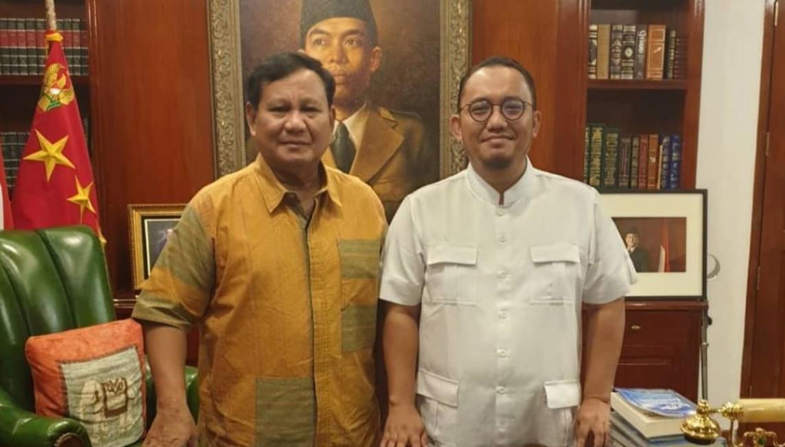 Dahnil Anzar Juru Bicara Resmi Prabowo Subianto