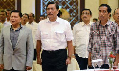 Menko Maritim Luhut Minta Jokowi Stop Impor Garam