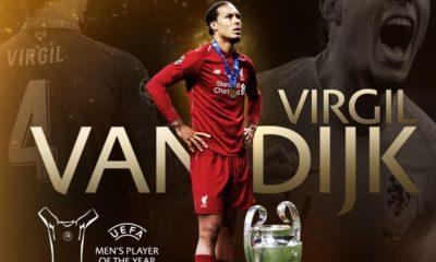 Messi dan Ronaldo Gagal, Van Dijk Pemain Terbaik Eropa 2018-2019