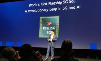 Huawei Perkenalkan Chip Kirin 990 dan Kirin 990 5G