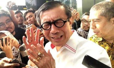Jokowi Minta Yasonna Laoly Pelajari Draf Revisi UU KPK
