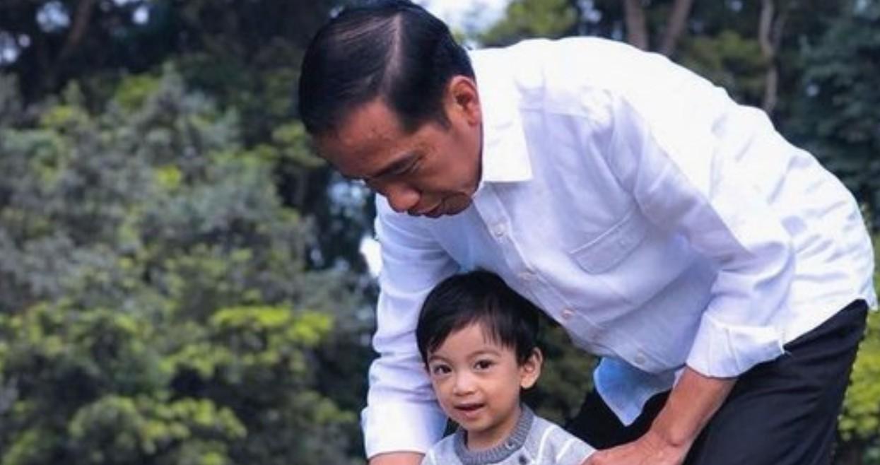 Jurnalis Asing Hutan Terbakar, Jokowi Malah Santai Ngevlog Bareng Cucu