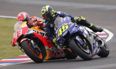MotoGP San Marino, Marquez dan Rossi Mengaku Tak Sadar Lewati Batas Lintasan