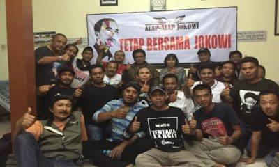Takut Gagal Dilantik, Relawan Alap-alap Jokowi Siap Pasang Badan