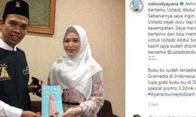 Pasca Bertemu UAS, Ayana Moon Banjir Dukungan Dari Warganet
