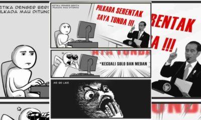 BREAKING NEWS! Pilkada Serentak Ditunda, Kecuali Solo dan Medan