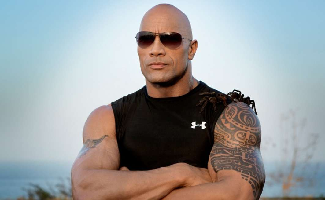 Dwayne Johnson Corona