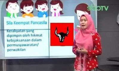 Heboh Sila Keempat Pancasila Berlogo PDIP di Video Belajar Daring