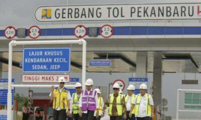 Jumat, Jokowi Resmikan Jalan Tol Pekanbaru-Dumai Secara Virtual