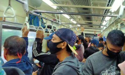 KCI Melarang Penumpang KRL Menggunakan Masker Scuba Dan Buff