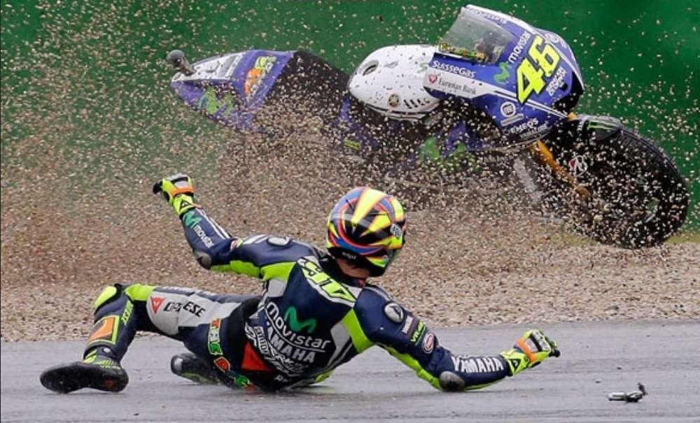 Kehilangan Point Pada Moto Gp Emilia Romagna, ini alasan Rossi