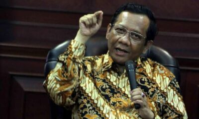 Mahfud MD Harus Dibongkar Jaringan Pelaku Penusukan Syekh Ali Jaber