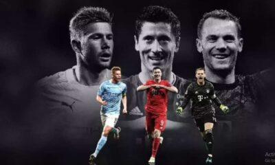Tak Ada Nama Ronaldo Dan Messi, Ini 3 Finalis Pemain Terbaik Eropa