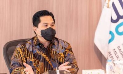 Terbang ke Korsel Erick Thohir Bahas Kerja Sama Vaksin Covid-19