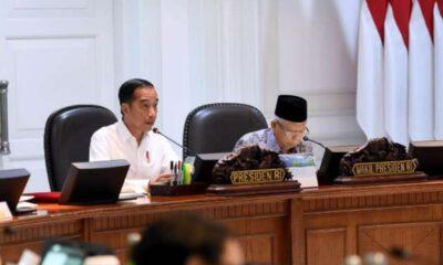 Akhirnya, Joko Widodo dan Ma'ruf Amin Bahas Omnibus law Hari Ini