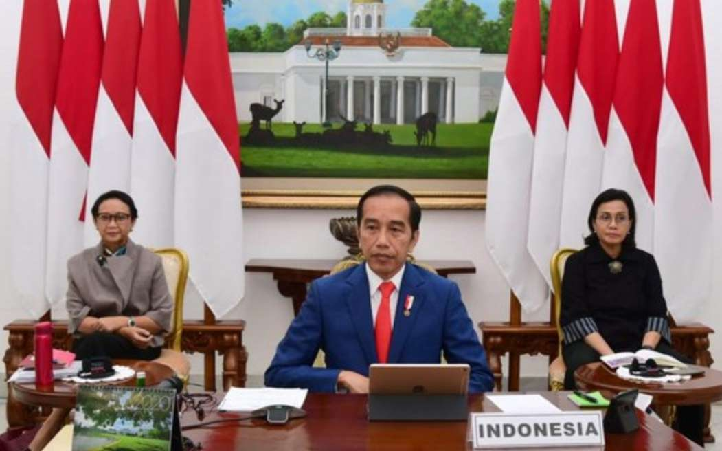 Dipandu ideologi Pancasila, Jokowi Yakin Bisa Atasi Covid-19