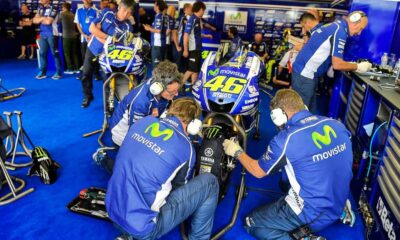 Jelang MotoGP Prancis Yamaha Terpapar Covid-19. Bagaimana Rossi
