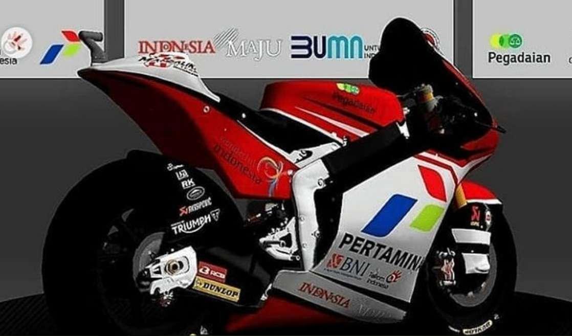 Keren, Mandalika Racing Team Disponsori Lima BUMN Di MotoGP 2021