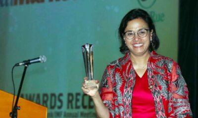 Lagi, Sri Mulyani Kembali Raih Penghargaan MenKeu Terbaik Asia 2020