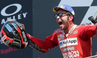 MotoGP Prancis 2020 Tak Disangka Petrucci Juara, Rossi Crash Lagi!