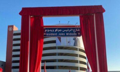 Nama Presiden Jokowi Diabadikan Jadi Nama Jalan Di Abu Dhabi UEA