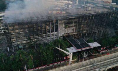 Polri sebut Kebakaran Kejagung Berasal dari Rokok Kuli Bangunan