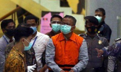 Menteri Kelautan dan Perikanan Edhy Prabowo Ditahan KPK 20 Hari