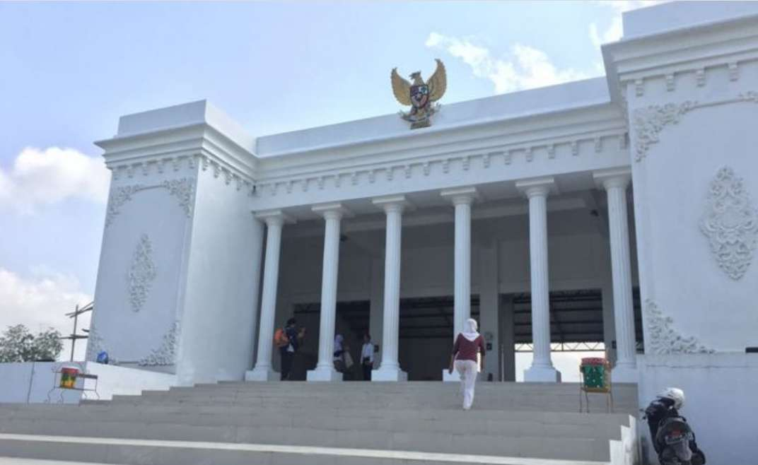 Viral Kantor Desa Di Cempaka Lampung, Dibangun Mirip Istana Merdeka