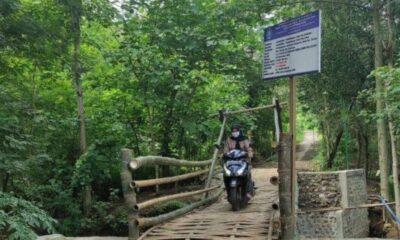 Heboh Jembatan Bambu di Ponorogo Senilai Rp 200 Juta