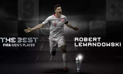 Kalahkan Ronaldo dan Messi, Lewandowski Pemain Terbaik FIFA 2020