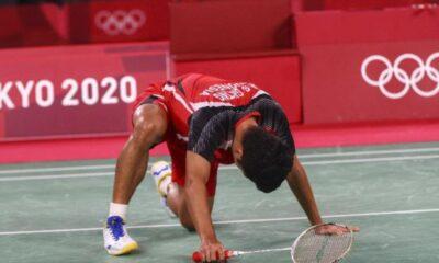 Cedera di Denmark Open, Ginting Sudah istirahat, tapi tidak cukup
